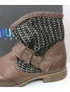 Chaussure Femme Cuir Marron Bunker