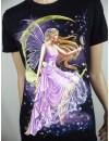 T-Shirt Rock Chang Imprimé d'une Fée