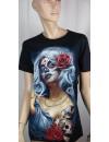 T-Shirt femme imprimé Tattoo
