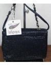 Sac A Main Femme handbag Noir Paillette