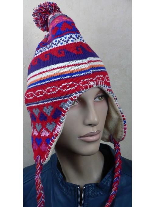 Bonnets femme péruvien d'amérique du sud