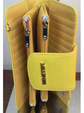 pochette colorée lollipops couleur jaune