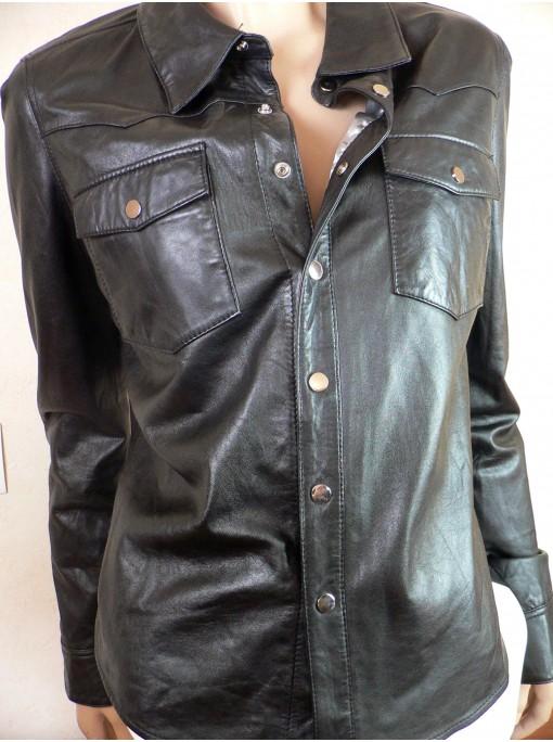 Blouson veste cuir homme revolution