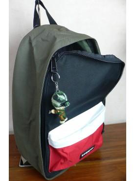sac a dos tagger backpack vert noir rouge et blanc