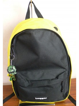 sac a dos tagger backpack jaune noir