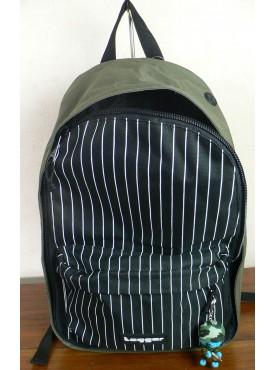 sac a dos tagger backpack vert noir