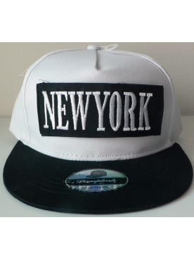 Casquette New York modèle double scratch New York