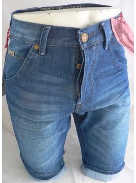 short en jean's délavé