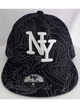 Casquette New York couleur noir