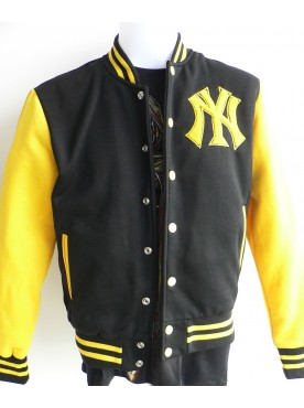 veste base ball blouson teddy New York