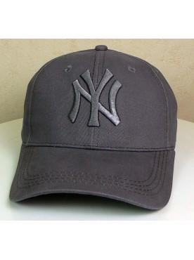 Casquette New York couleur grise