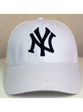 Casquette New York couleur blanc