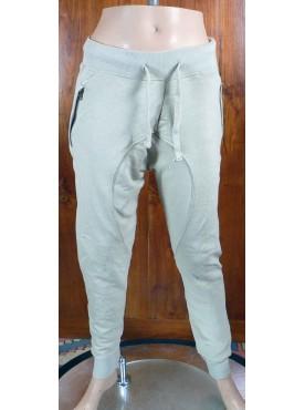 pantalon sarouel jogging beige cabaneli