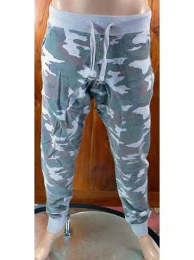 pantalon sarouel jogging camouflage cabaneli