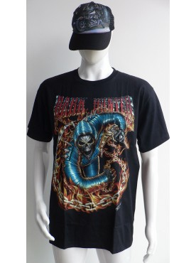 T-Shirt Rock Chang Imprimé dark hunter 3 D