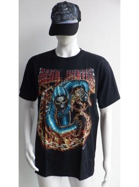 T-Shirt Rock Chang Imprimé dark hunter 3 D