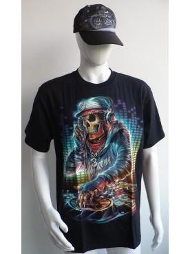 T-Shirt Rock Chang Imprimé di jockey