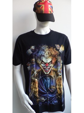 T-Shirt Rock Chang Imprimé d'un clown