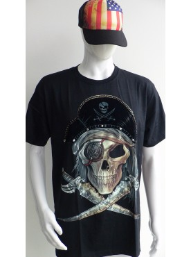 T-Shirt Rock Chang Imprimé d'un pirate