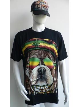T-Shirt officiel dog reggae légend en 3 D