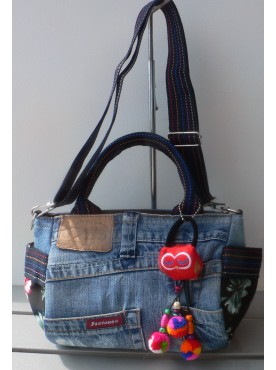 petit sac a main petit sac a bandoulière jean's denim
