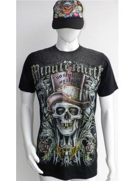 t-shirt homme Shiro Niko Minute Mirth