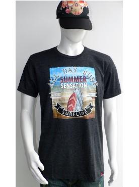 t-shirt de surf homme