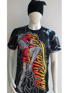 t-shirt imprimé muay thai