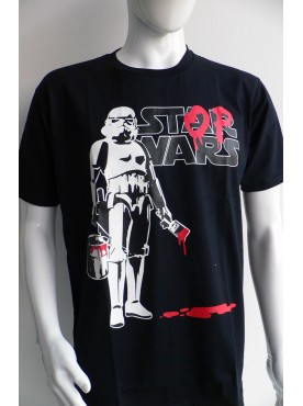 Découvrez ce très beau T-Shirt Mode Homme Imprimé Masque cyborg galactique