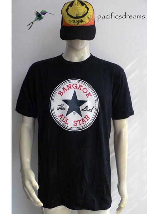 t-shirt all star bangkok noir homme