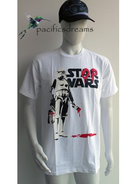Découvrez ce très beau T-Shirt Mode Homme Imprimé starvars le peintre