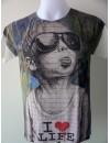 T-Shirt Homme Imprimé Imprimé Babe Loving