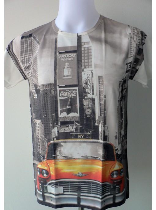 T-Shirt Homme Imprimé Imprimé NewYork