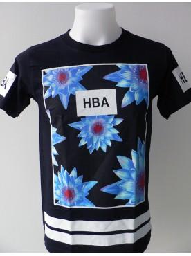 T-Shirt Homme H B A Bleue