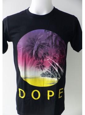 T-Shirt Hip-Hop Homme Imprimé D'une Plage de Californie