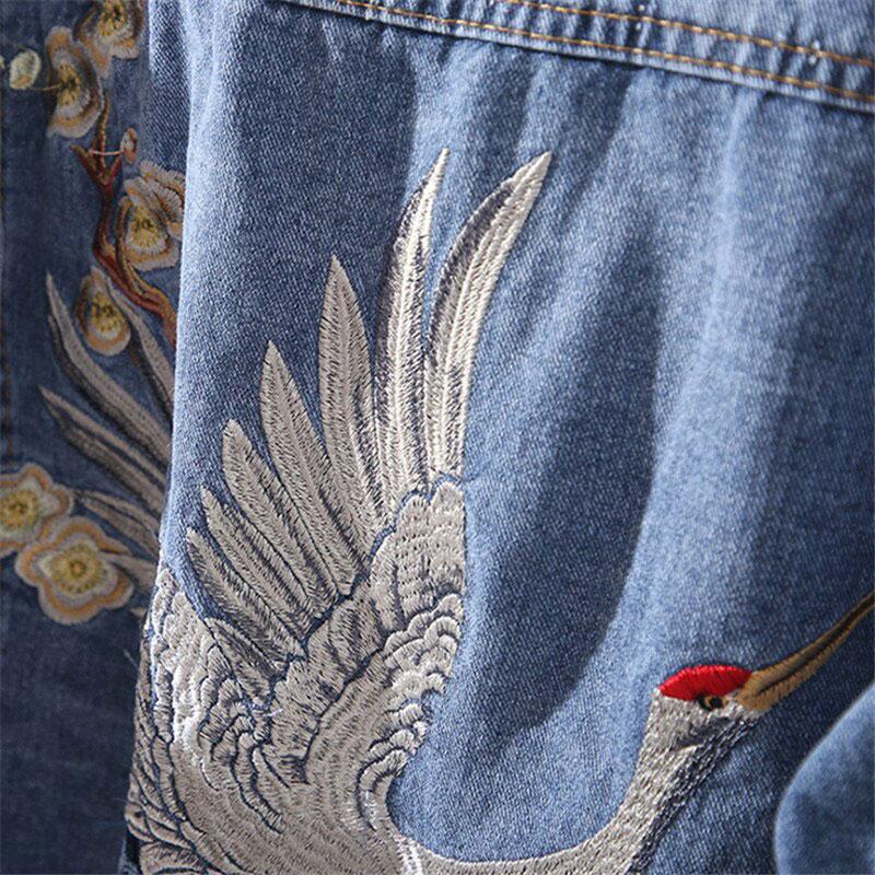 veste jeans femme